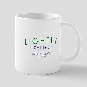 Lightly Salted Amelia Island Florida Mugs