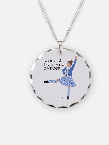 Scottish Highland Dancer Necklace