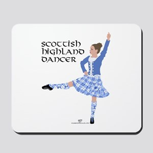 Scottish Highland Dancer Mousepad