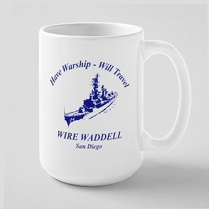Have Warship Will Travel Mug Mugs