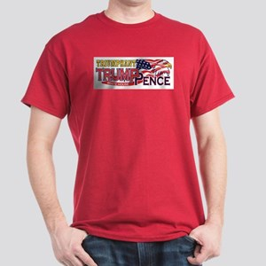 Triumphant Trump Pence Design Men's T-Shirt