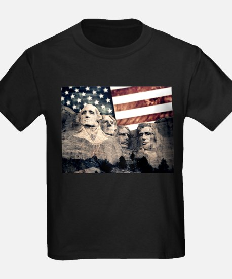 Patriotic Mount Rushmore T-Shirt