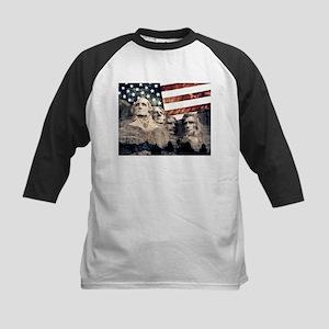 Patriotic Mount Rushmore Baseball Jersey
