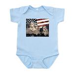 Patriotic Mount Rushmore Body Suit