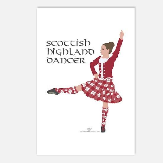 Scottish Highland Dancer Postcards (Package of 8)