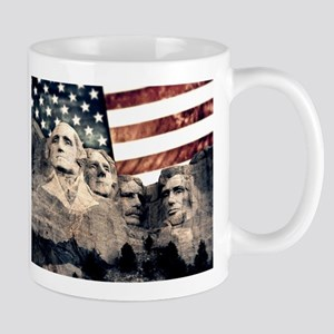 Patriotic Mount Rushmore Mugs