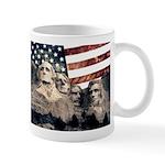 Patriotic Mount Rushmore Mugs