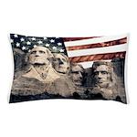 Patriotic Mount Rushmore Pillow Case