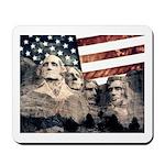 Patriotic Mount Rushmore Mousepad