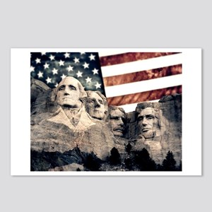 Patriotic Mount Rushmore Postcards (Package of 8)