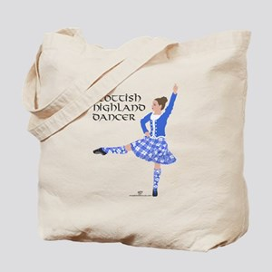 Scottish Highland Dancer Tote Bag