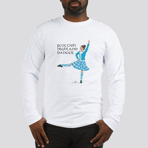 Scottish Highland Dancer Long Sleeve T-Shirt