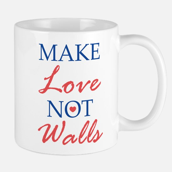Make Love Not Walls Mug