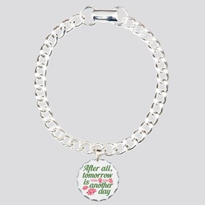 Tomorrow is Another Day Charm Bracelet, One Charm