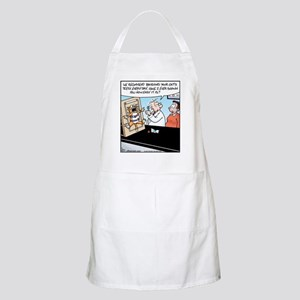 Easy Cat Teeth Brushing BBQ Apron