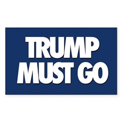 Trump Must Go Decal