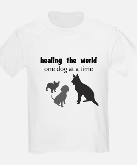 Healing the World One Dog at a Time T-Shirt