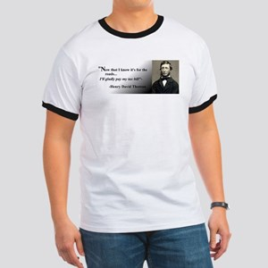Thoreau Abides T-Shirt