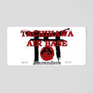 tachikawa air base japan Aluminum License Plate