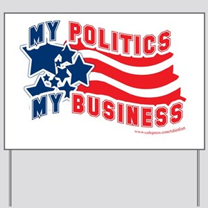 The Generic Political Yard Sign