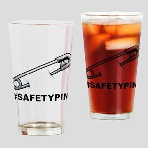 safetypin Drinking Glass