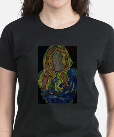 Abstract Woman Portrait Pop Art T-Shirt