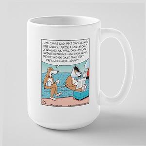 Not Listening Dog Large Mug