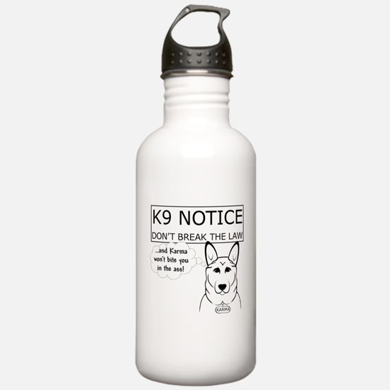 K9 Karma Water Bottle