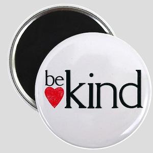 Be kind - letterpress heart design Magnets