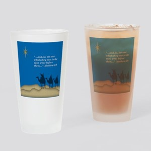Wiseman And Star Drinking Glass