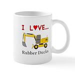 I Love Rubber Ducks Mug