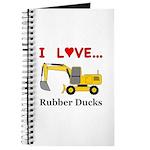 I Love Rubber Ducks Journal