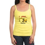 I Love Ducks Jr. Spaghetti Tank