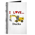 I Love Ducks Journal