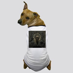 Awesome creepy skull Dog T-Shirt