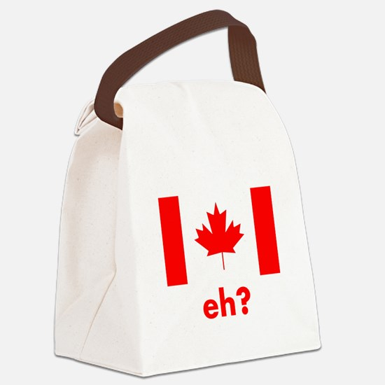 Eh? Canada Canvas Lunch Bag