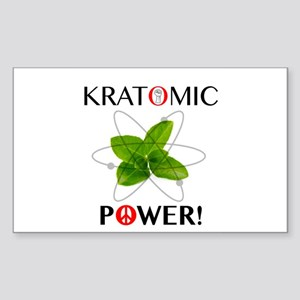 Kratomic Power Sticker
