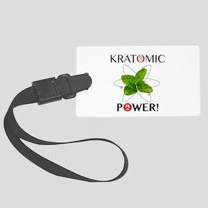 Kratomic Power Luggage Tag