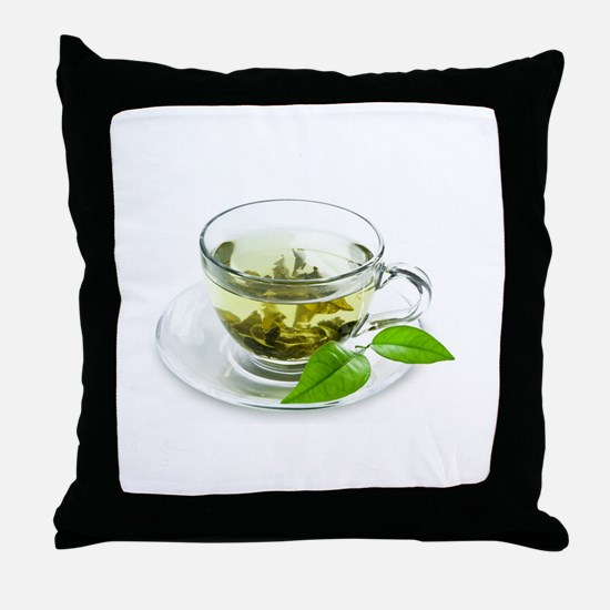 Kratom Tea Throw Pillow
