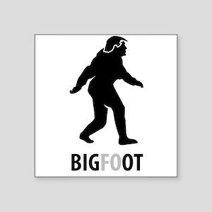 Bigfoot Bigot Trump Sticker
