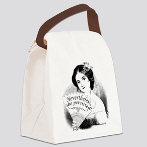 Nevertheless, She Persisted Victo Canvas Lunch Bag