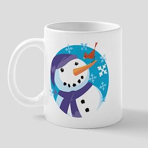 Snowman & Friend Mug