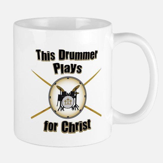 Drum For Christ Mug