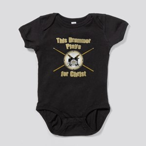 Drum For Christ Baby Bodysuit