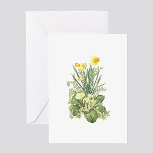 Spring Flowers Greeting Cards