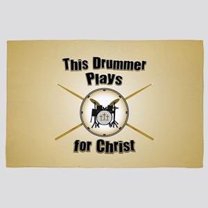 Drum For Christ 4' x 6' Rug