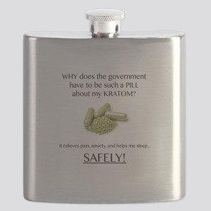 Government Pill Flask