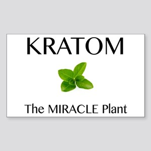Kratom Miracle Sticker