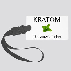Kratom Miracle Luggage Tag