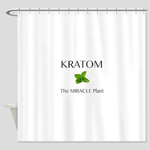 Kratom Miracle Shower Curtain